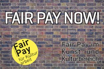 Was heißt Fair Pay für den Kulturbereich